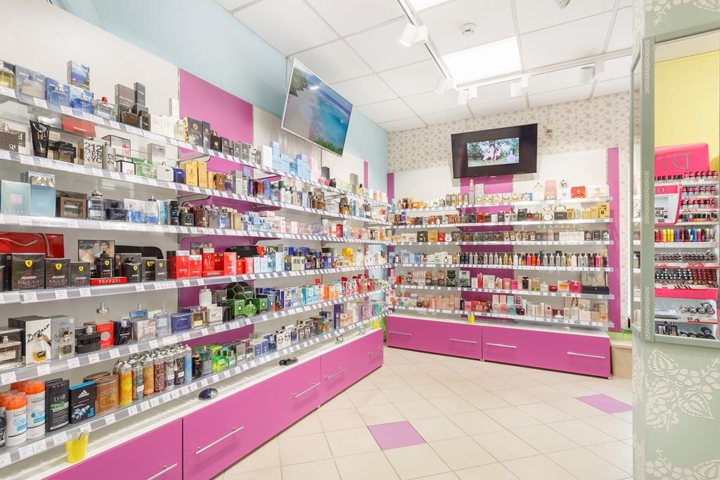 торговое оборудование для косметики и парфюмерии купить